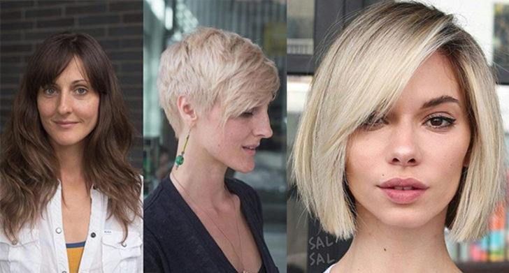 Saçlarını kestirip bambaşka biri olan 18 kadın