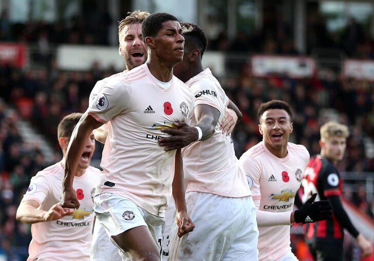 Bournemouth 1 - 2 Manchester United