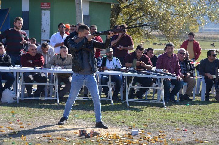 Panayır trap atışı turnuvası yapıldı
