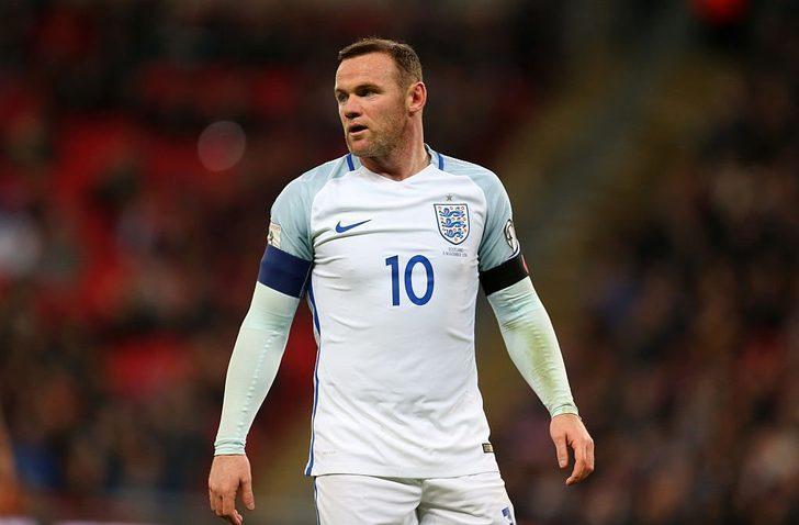 Wayne Rooney, İngiltere Milli Takımı'nı son kez giyecek