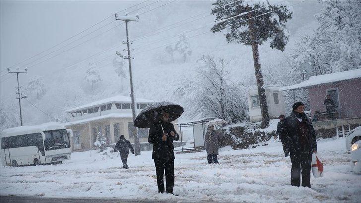 30 Ocak hava durumu ! Meteoroloji'den kar yağışı uyarısı