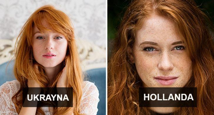 Kızıl saçlı kadınların güzelliğini gözler önüne seren fotoğrafçı
