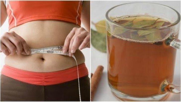 Yağ yakmak isteyenlere duyurulur: Belinizi 5 cm incelten çay