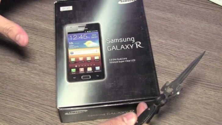 Yeni Galaxy R, uygun fiyatıyla dikkat çekiyor