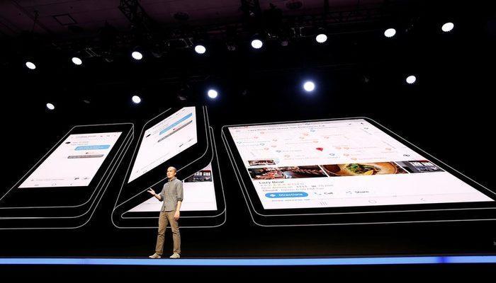 Samsunhg katlanabilir ekranlı telefonunu tanıttı: Açıldığında ekranı tablet boyutuna ulaşıyor