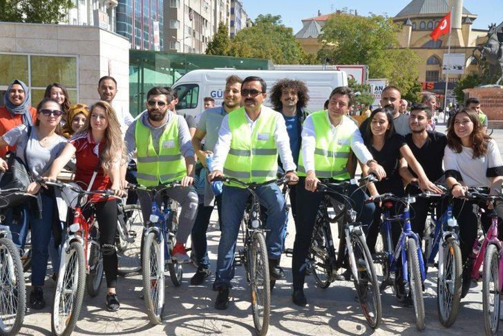 'Kırşehir'i seviyorum, bisiklete biniyorum' bisiklet turunun 2.'si 11 Kasım'da
