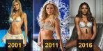Victoria's Secret Fantasy Bra'nın yıllar içindeki değişimi