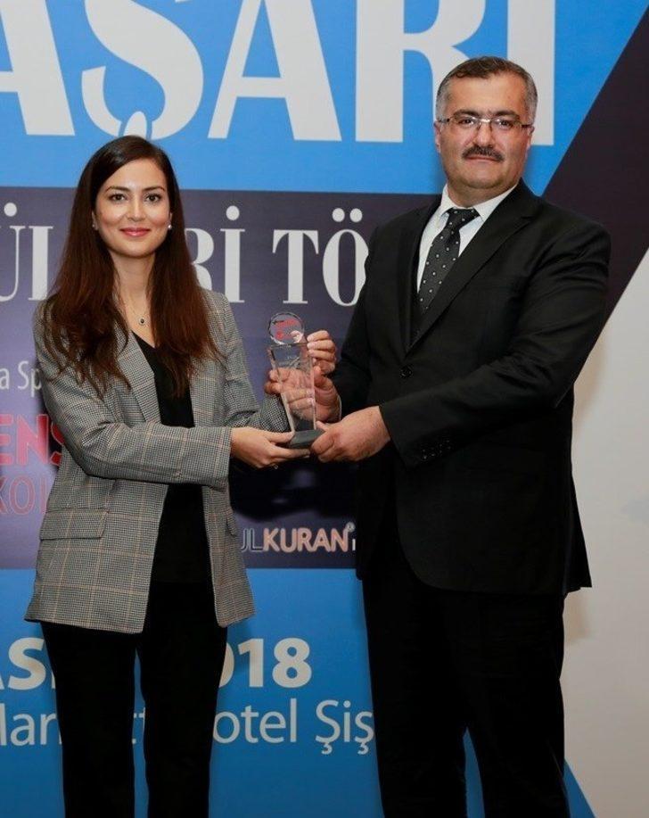 Hasan Tevke, 'Yılın Milli Eğitim Müdürü' seçildi