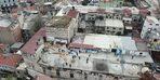 - Drone'a yakalanan tarih talancılarının yaptıkları barakalar yıkıldı