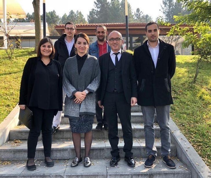 Başkan yardımcısı Cebar, personel ile buluştu