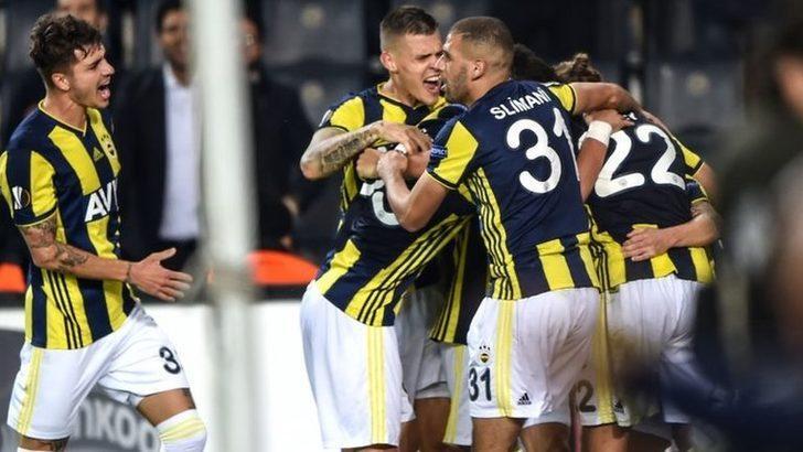 UEFA Avrupa Ligi: Fenerbahçe-Anderlecht: 2-0