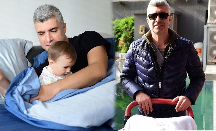 Çifte baba Özcan Deniz! Evde Kuzey bebek, İstanbullu Gelin setinde Yaz bebek!