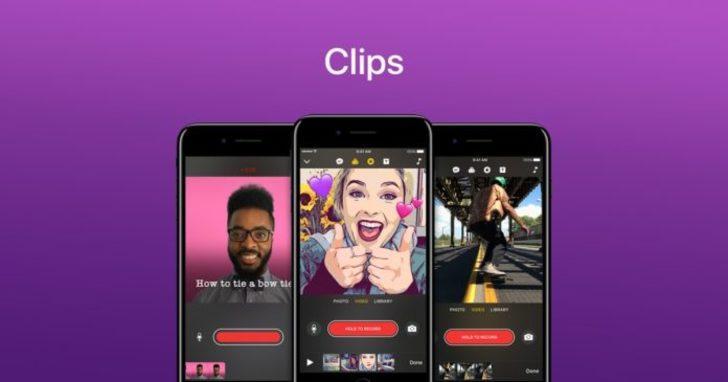 Apple Clips uygulamasına gelen yeni özellikler