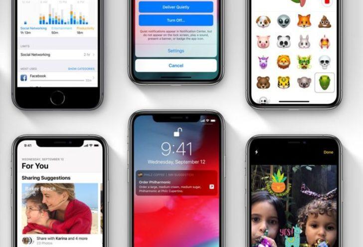Apple geliştiriler için iOS 12.1.1 Beta 2 güncellemesini yayınladı