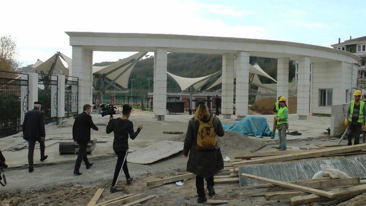 Kent park Akçakoca'ya değer katacak