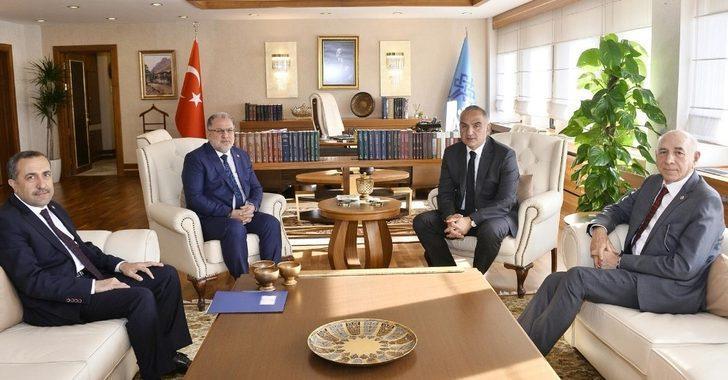 Van milletvekillerinden Bakan Ersoy'a ziyaret
