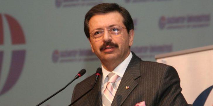 TOBB Başkanı Rifat Hisarcıklıoğlu'ndan 10 Kasım mesajı