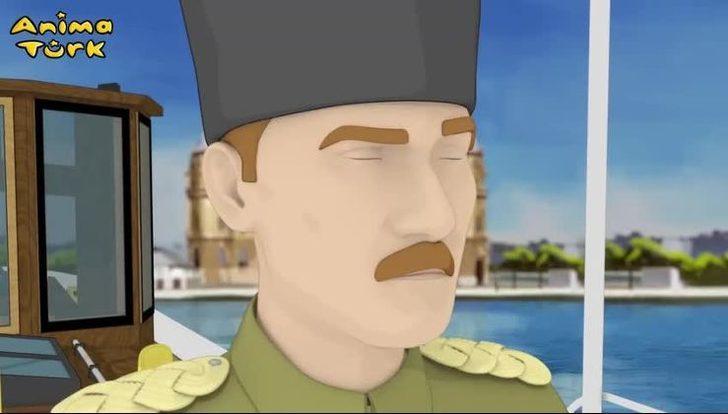 Türkiye'nin ilk Atatürk çizgi filmi yayınlandı