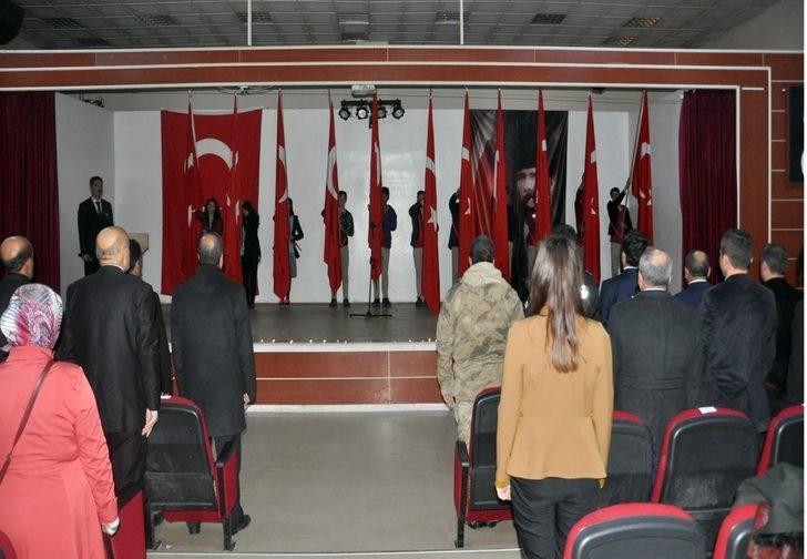 Gazi Mustafa Kemal Atatürk Pasinler'de anıldı