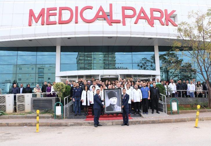 10 Kasım'da Gaziantep Medical Park'ta hayat durdu