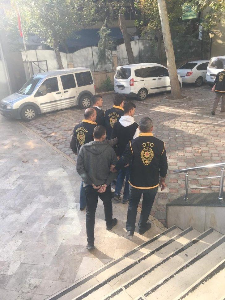 Malatya'da 3 hırsızlık zanlısı tutuklandı