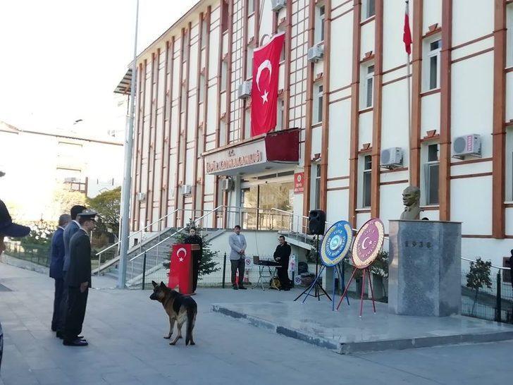 Gazi Mustafa Kemal Atatürk, İspir'de törenle anıldı